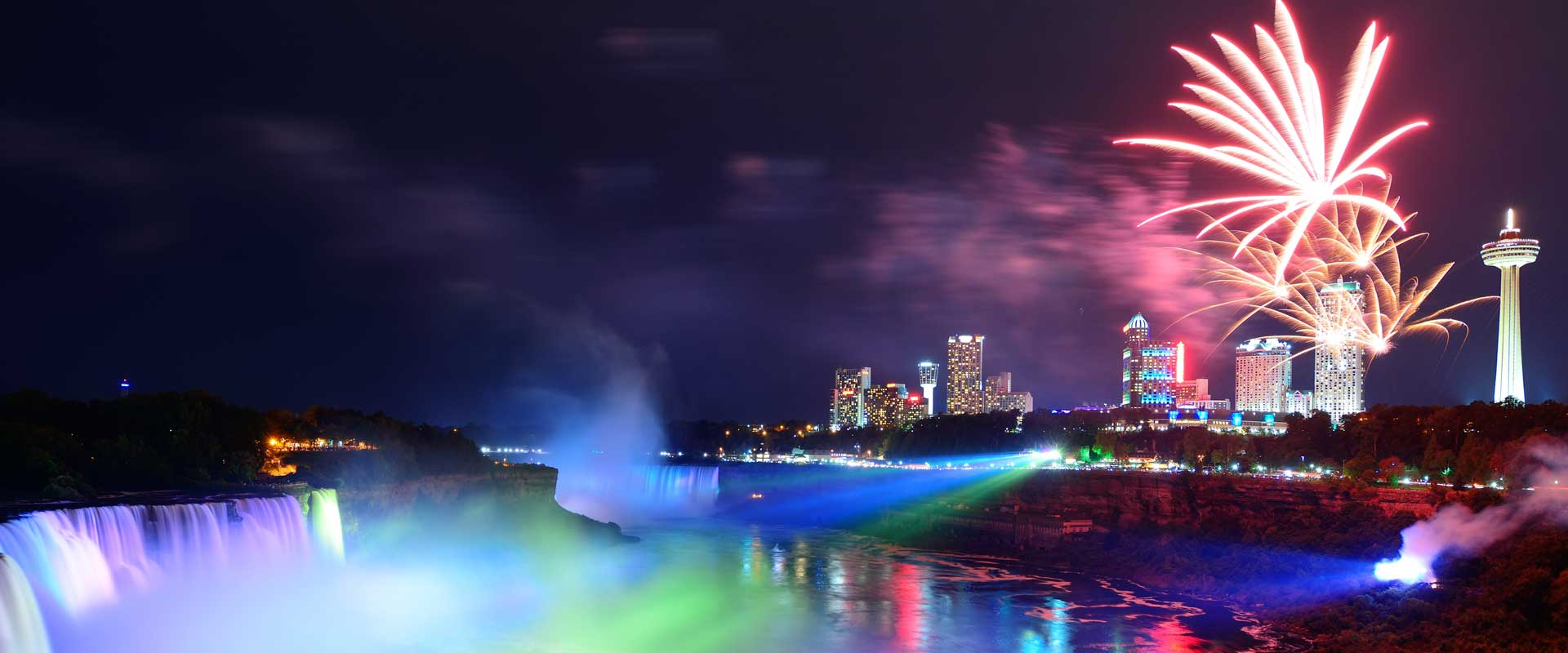 Niagara Falls Illumination and Fireworks