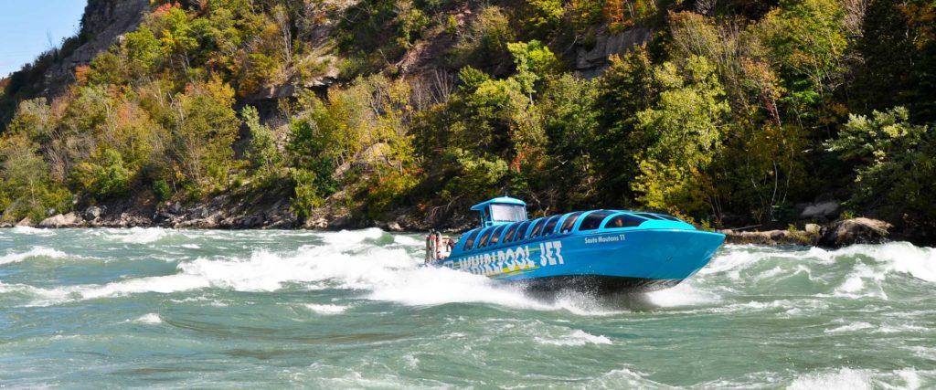 Niagara Falls Whirlpool Boat Tour Jet Dome Boat Ride