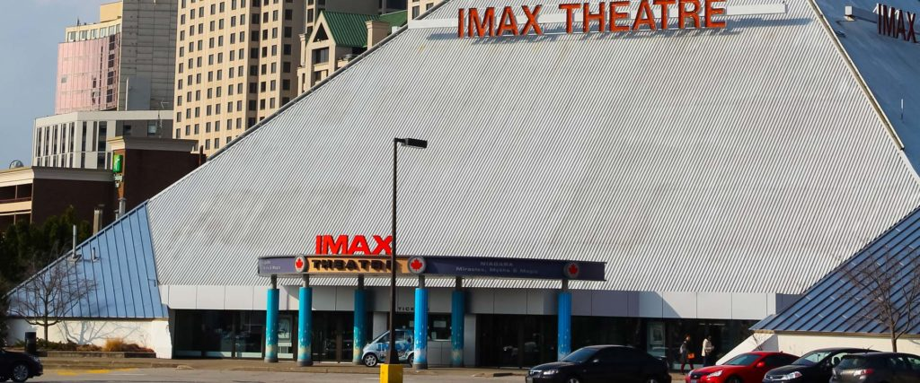 IMAX Theatre and Daredevil Exhibit
