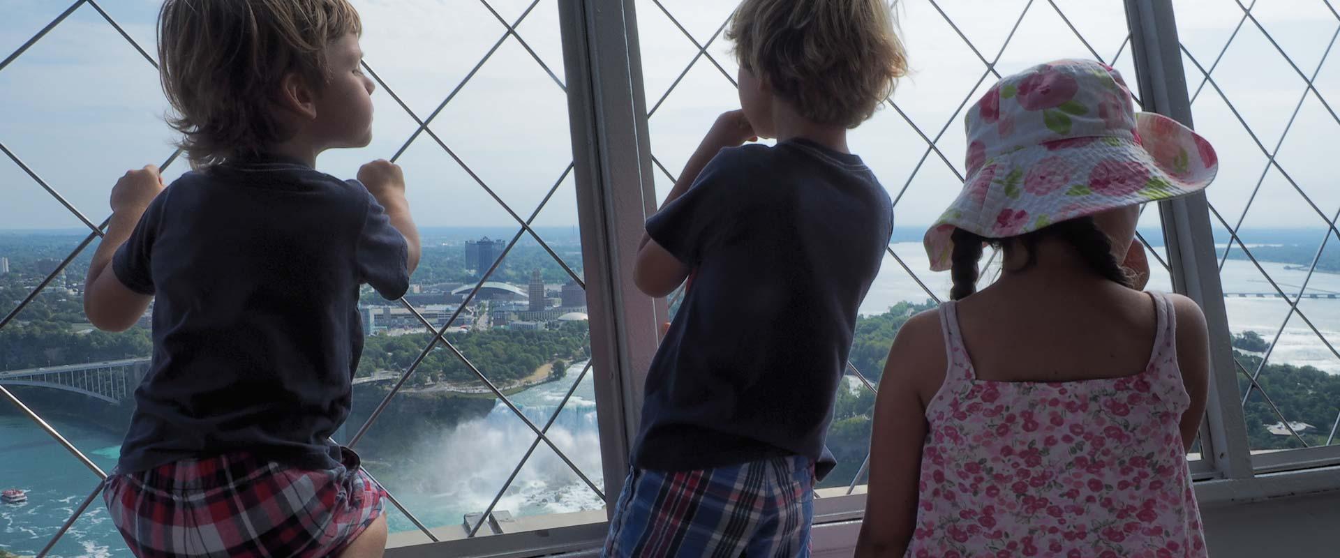 A School Trip to Niagara Falls by Charter Bus