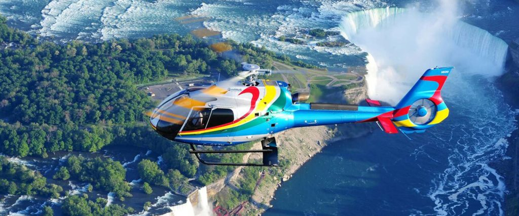 What's the Price of a Helicopter Ride in Niagara Falls