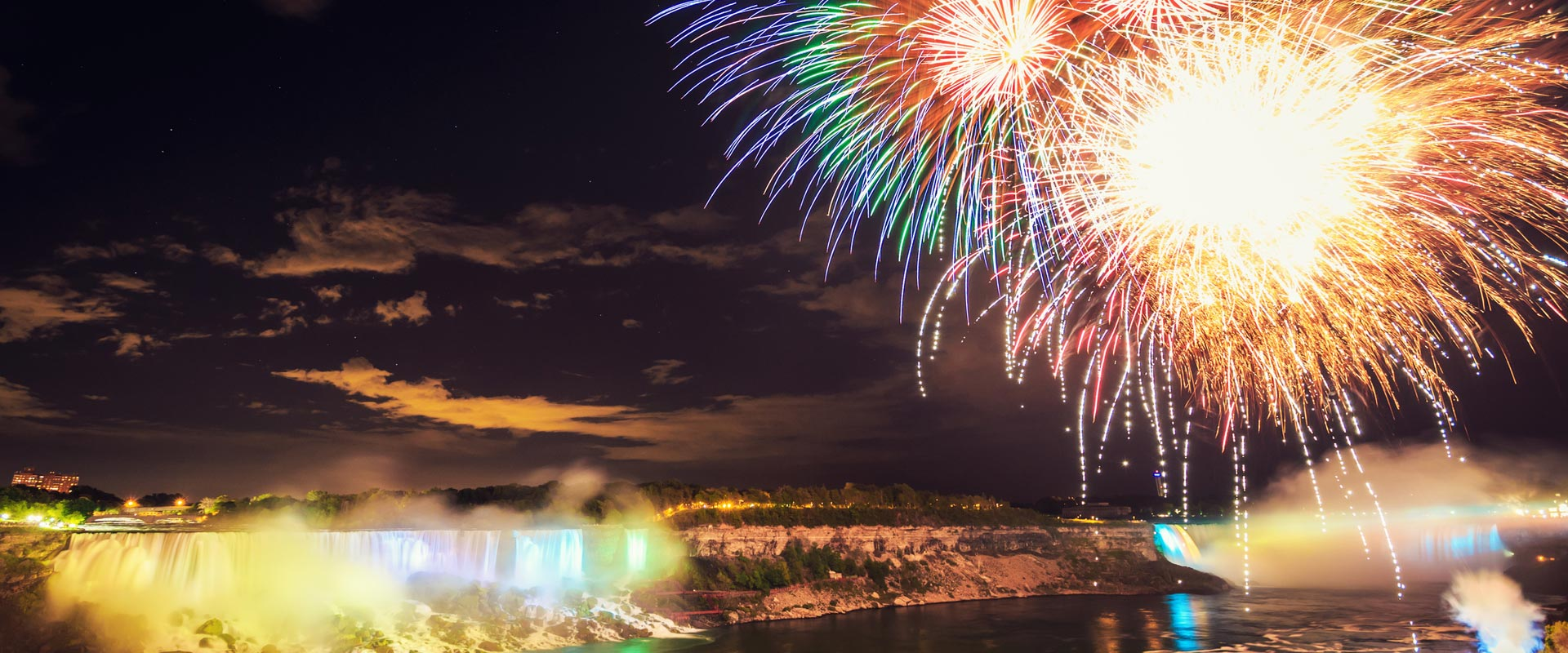 See Summer Fireworks with Niagara Falls Evening Tour from Toronto