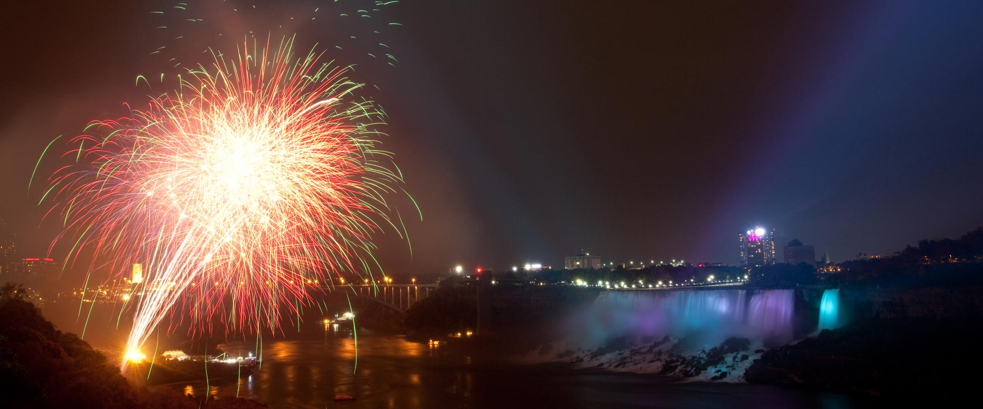 Niagara Falls Summer Fireworks 2019