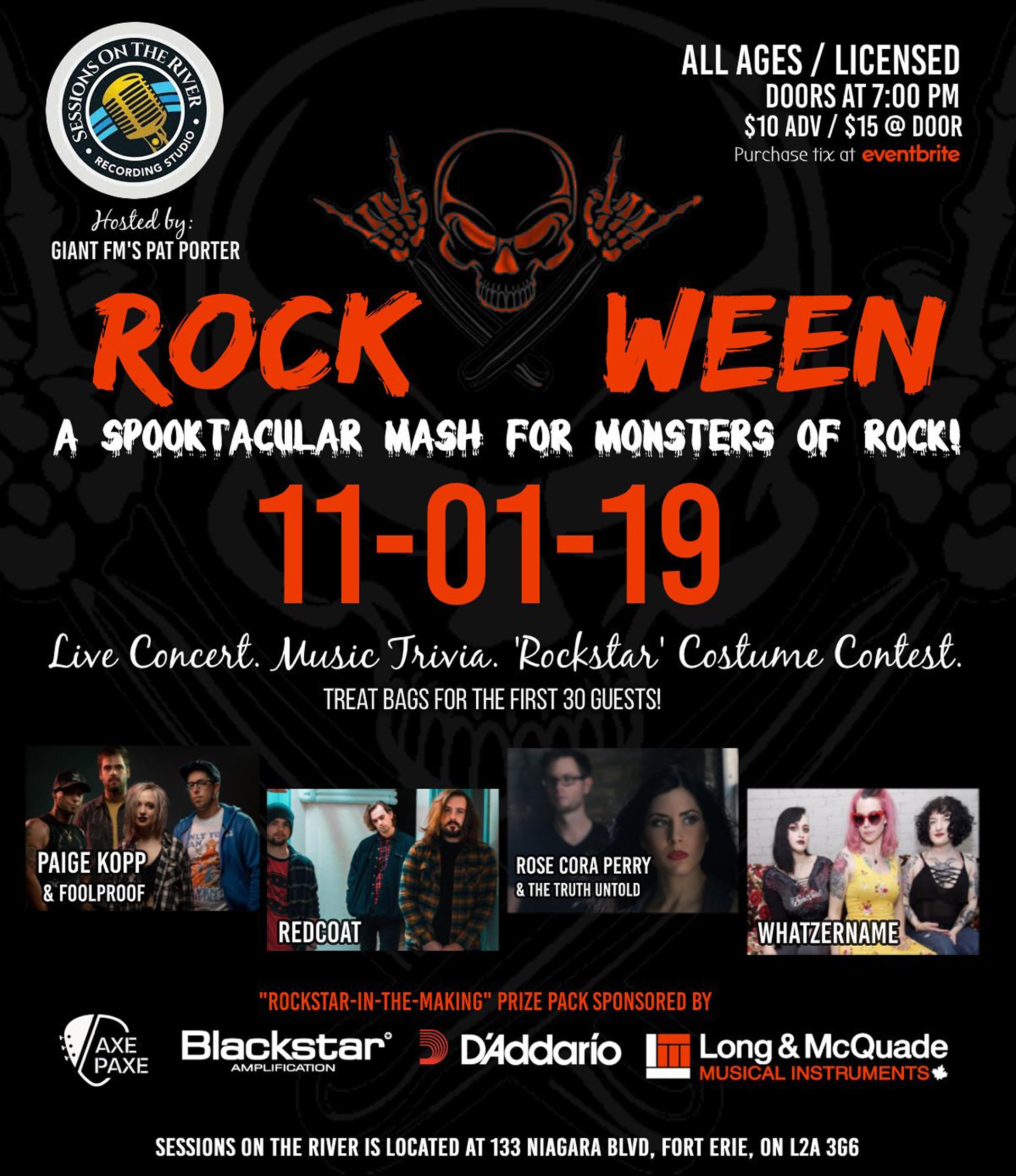 Rock-O-Ween: A Spooktacular Night Of Rock Music