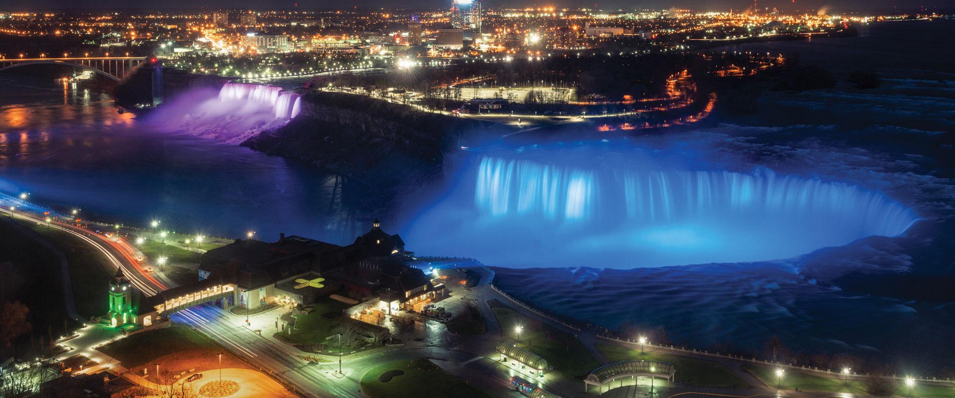 Niagara Falls Winter Festival Of Lights Toniagara