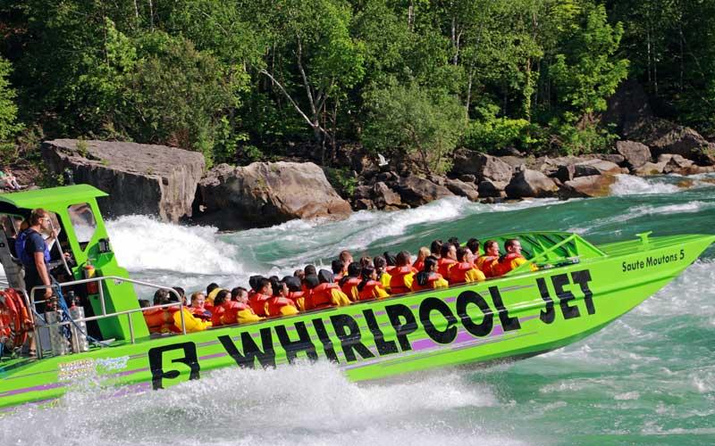 Niagara Falls Whirlpool Boat Tour - Wet Jet Ride
