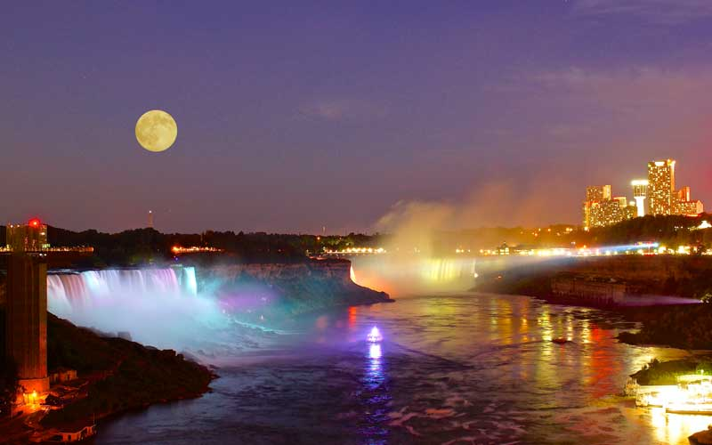 Mississauga To Niagara Falls Evening Tour