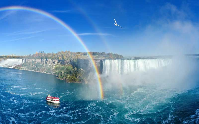 Canadian Rainbow Tour Niagara Falls, Ontario (USA pickups only)