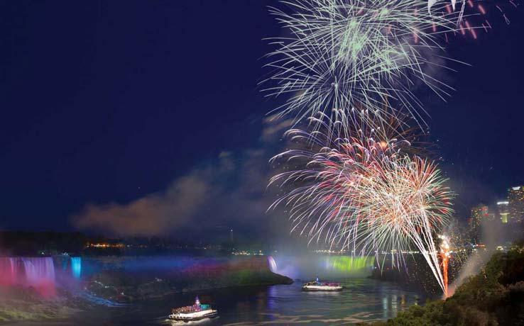 Falls Fireworks Cruise