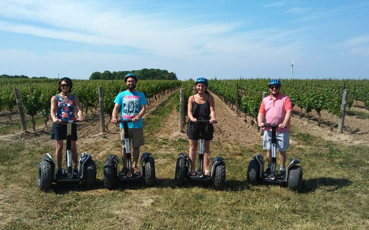 Niagara Segway Winery Tour