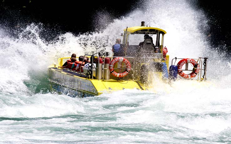 Niagara-on-the-Lake Whirlpool Boat Tour - Wet Jet Ride (An Exciting Ride Down the Niagara River Rapids)