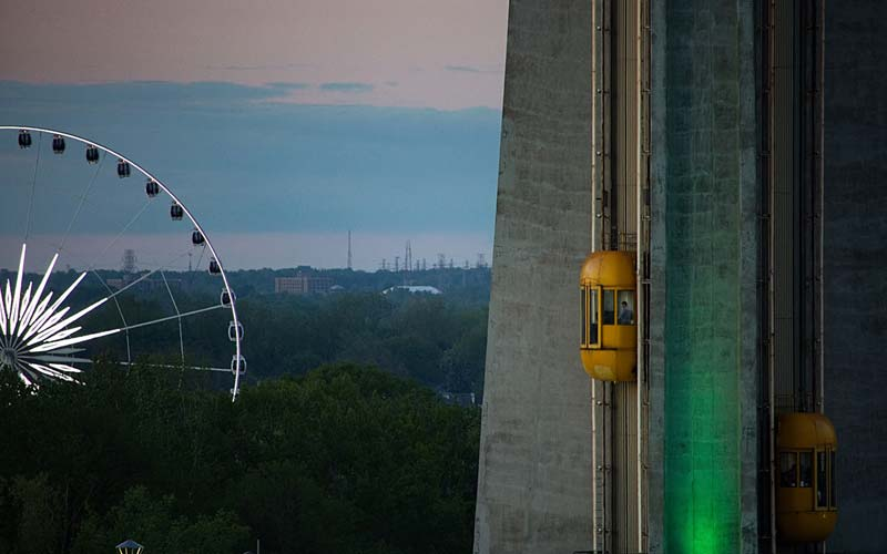 Skylon Tower: Ride To The Top