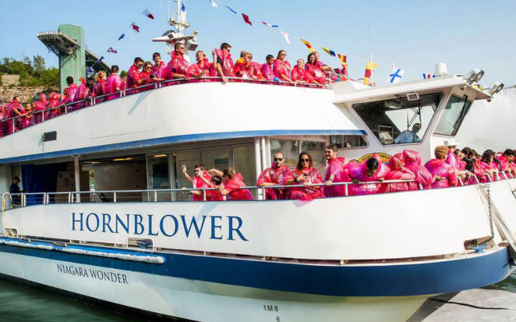 Hornblower: Voyage to the Falls Boat Tour with Funicular